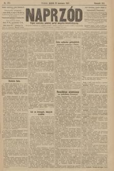Naprzód : organ centralny polskiej partyi socyalno-demokratycznej. 1907, nr174