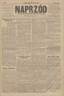 Naprzód : organ centralny polskiej partyi socyalno-demokratycznej. 1907, nr179