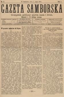 Gazeta Samborska : dwutygodnik poświęcony sprawom miasta iobwodu. 1895, nr9