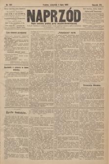 Naprzód : organ centralny polskiej partyi socyalno-demokratycznej. 1907, nr187