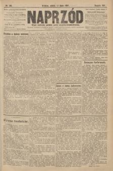 Naprzód : organ centralny polskiej partyi socyalno-demokratycznej. 1907, nr196