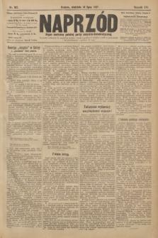 Naprzód : organ centralny polskiej partyi socyalno-demokratycznej. 1907, nr197