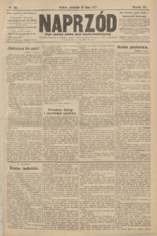 Naprzód : organ centralny polskiej partyi socyalno-demokratycznej. 1907, nr201