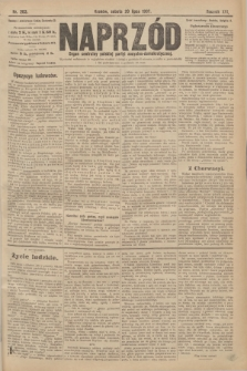 Naprzód : organ centralny polskiej partyi socyalno-demokratycznej. 1907, nr203