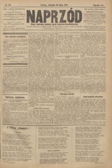 Naprzód : organ centralny polskiej partyi socyalno-demokratycznej. 1907, nr211