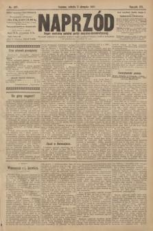Naprzód : organ centralny polskiej partyi socyalno-demokratycznej. 1907, nr217