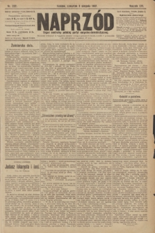 Naprzód : organ centralny polskiej partyi socyalno-demokratycznej. 1907, nr222