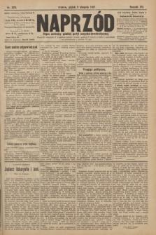 Naprzód : organ centralny polskiej partyi socyalno-demokratycznej. 1907, nr223
