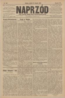 Naprzód : organ centralny polskiej partyi socyalno-demokratycznej. 1907, nr227