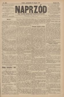 Naprzód : organ centralny polskiej partyi socyalno-demokratycznej. 1907, nr233