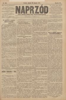 Naprzód : organ centralny polskiej partyi socyalno-demokratycznej. 1907, nr234