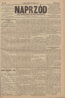 Naprzód : organ centralny polskiej partyi socyalno-demokratycznej. 1907, nr237