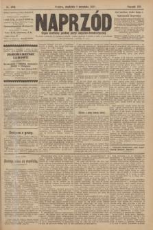 Naprzód : organ centralny polskiej partyi socyalno-demokratycznej. 1907, nr246