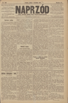 Naprzód : organ centralny polskiej partyi socyalno-demokratycznej. 1907, nr249