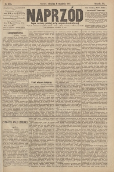 Naprzód : organ centralny polskiej partyi socyalno-demokratycznej. 1907, nr253