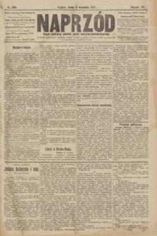Naprzód : organ centralny polskiej partyi socyalno-demokratycznej. 1907, nr256