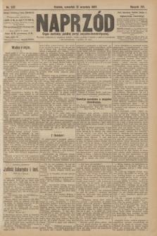 Naprzód : organ centralny polskiej partyi socyalno-demokratycznej. 1907, nr257
