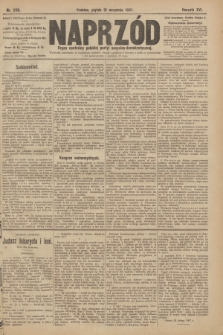 Naprzód : organ centralny polskiej partyi socyalno-demokratycznej. 1907, nr258