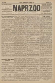 Naprzód : organ centralny polskiej partyi socyalno-demokratycznej. 1907, nr264