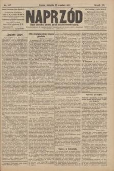 Naprzód : organ centralny polskiej partyi socyalno-demokratycznej. 1907, nr267