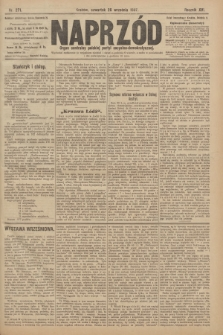 Naprzód : organ centralny polskiej partyi socyalno-demokratycznej. 1907, nr271