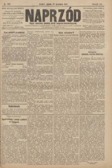 Naprzód : organ centralny polskiej partyi socyalno-demokratycznej. 1907, nr272