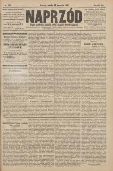 Naprzód : organ centralny polskiej partyi socyalno-demokratycznej. 1907, nr273
