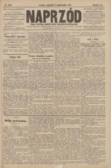 Naprzód : organ centralny polskiej partyi socyalno-demokratycznej. 1907, nr278