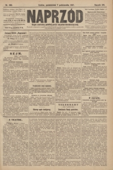 Naprzód : organ centralny polskiej partyi socyalno-demokratycznej. 1907, nr282