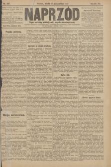 Naprzód : organ centralny polskiej partyi socyalno-demokratycznej. 1907, nr287