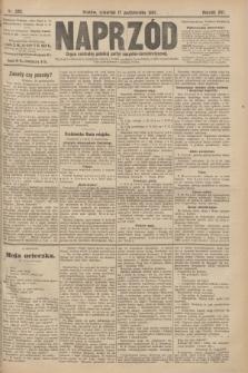 Naprzód : organ centralny polskiej partyi socyalno-demokratycznej. 1907, nr292