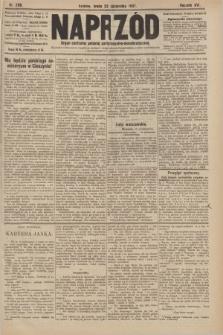 Naprzód : organ centralny polskiej partyi socyalno-demokratycznej. 1907, nr298