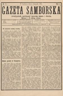 Gazeta Samborska : dwutygodnik poświęcony sprawom miasta iobwodu. 1895, nr20