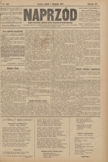 Naprzód : organ centralny polskiej partyi socyalno-demokratycznej. 1907, nr307