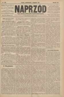 Naprzód : organ centralny polskiej partyi socyalno-demokratycznej. 1907, nr310