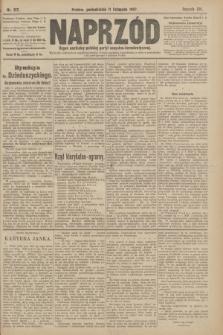 Naprzód : organ centralny polskiej partyi socyalno-demokratycznej. 1907, nr317