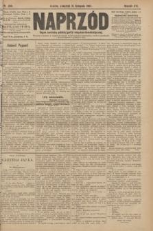 Naprzód : organ centralny polskiej partyi socyalno-demokratycznej. 1907, nr320