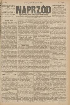 Naprzód : organ centralny polskiej partyi socyalno-demokratycznej. 1907, nr322
