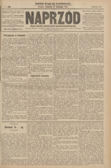 Naprzód : organ centralny polskiej partyi socyalno-demokratycznej. 1907, nr323 (po konfiskacie nakład drugi)
