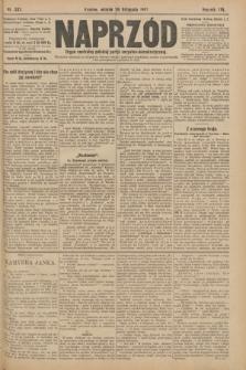 Naprzód : organ centralny polskiej partyi socyalno-demokratycznej. 1907, nr332