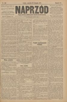 Naprzód : organ centralny polskiej partyi socyalno-demokratycznej. 1907, nr334