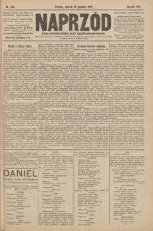 Naprzód : organ centralny polskiej partyi socyalno-demokratycznej. 1907, nr346