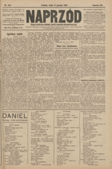 Naprzód : organ centralny polskiej partyi socyalno-demokratycznej. 1907, nr347