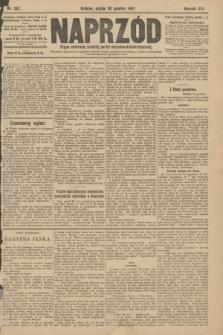 Naprzód : organ centralny polskiej partyi socyalno-demokratycznej. 1907, nr357