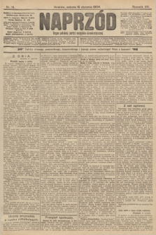 Naprzód : organ polskiej partyi socyalno-demokratycznej. 1904, nr16