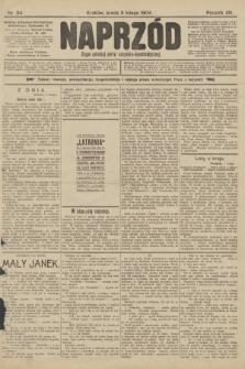 Naprzód : organ polskiej partyi socyalno-demokratycznej. 1904, nr34