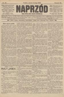 Naprzód : organ polskiej partyi socyalno-demokratycznej. 1904, nr40