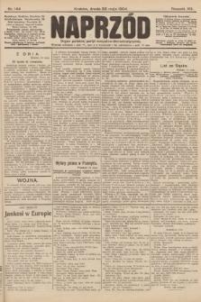 Naprzód : organ polskiej partyi socyalno-demokratycznej. 1904, nr144