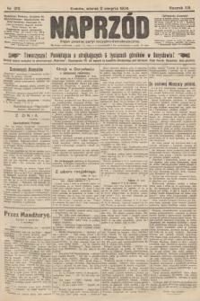 Naprzód : organ polskiej partyi socyalno-demokratycznej. 1904, nr213