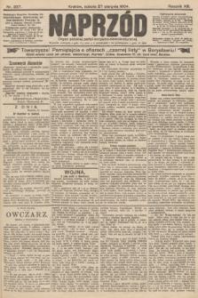 Naprzód : organ polskiej partyi socyalno-demokratycznej. 1904, nr237